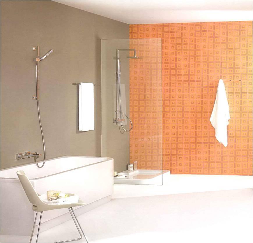 jogos de decoracao de interiores de casas:decoracao-de-casas-de-banho-ambiente-banheira-e-duche-cor-de-laranja