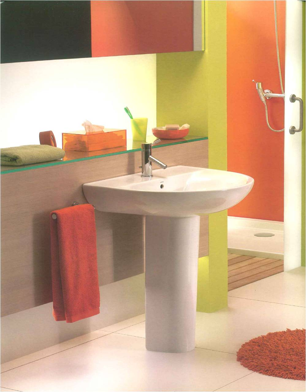 faca voce mesmo decoracao de interiores:decoracao-de-casas-de-banho-casa-de-banho-de-varias-cores