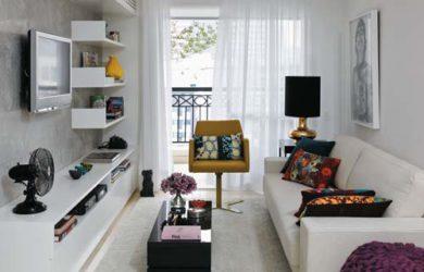 Decoração Salas de Apartamentos Pequenos