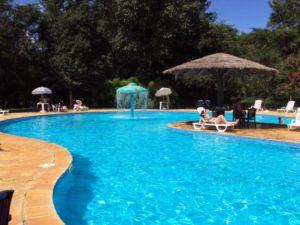 Manutenção de água de piscina
