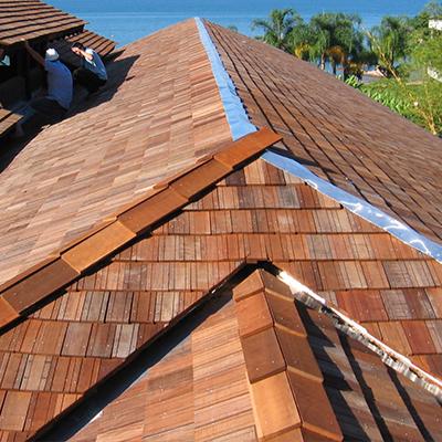 Nome de madeira para telhado