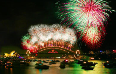 ano novo na australia