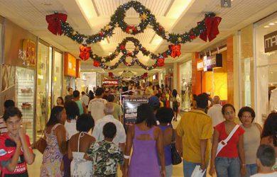 corrida compras de natal