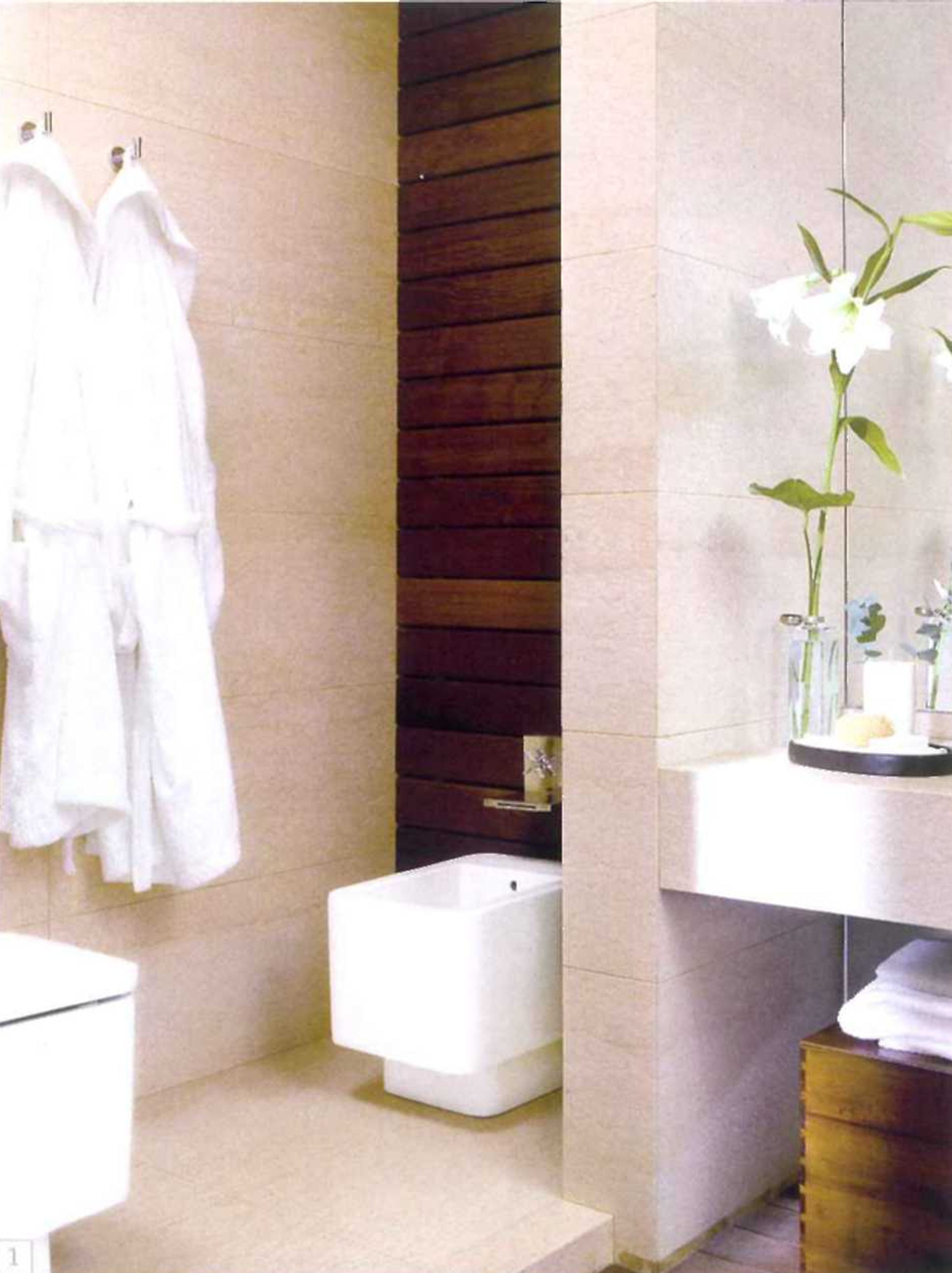 decoração de casas - decoração de casa de banho sanita quadrada