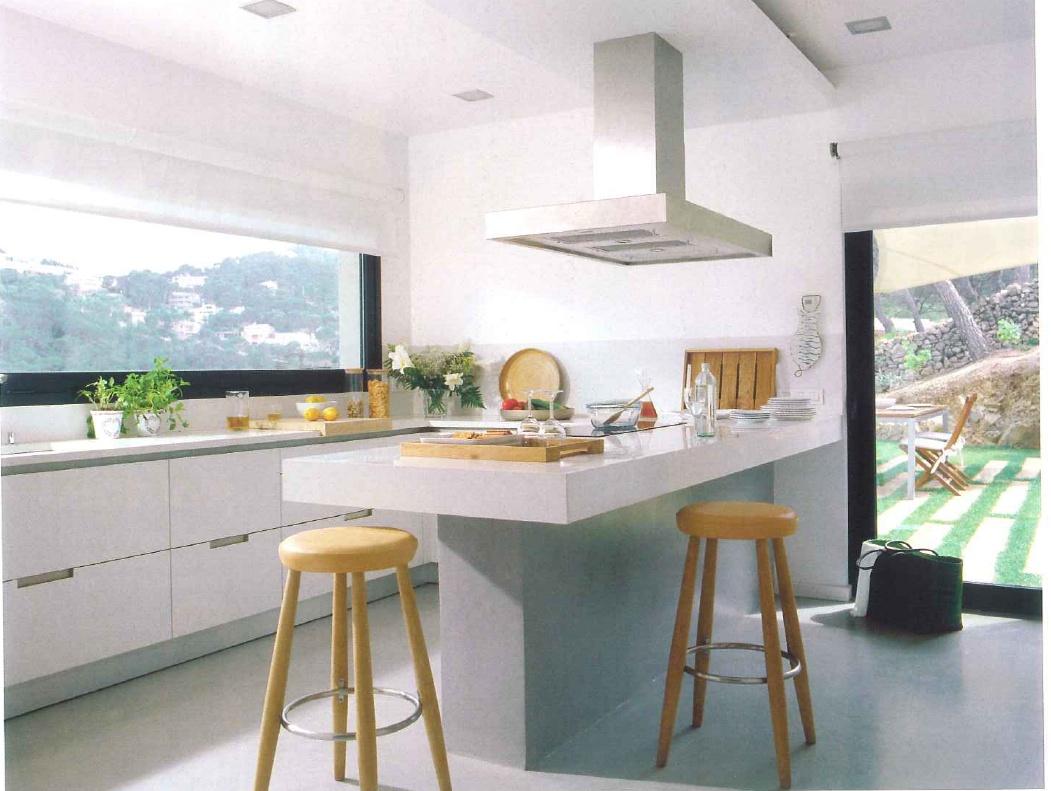 #684C31 decoração de interiores decoração cozinha armários de cozinha  1051x791 px Decoração De Bancada De Cozinha Americana_3347 Imagens
