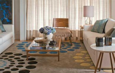 Sofá e tapete