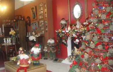 decoração lojas natal
