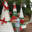 decoração natal material reciclado