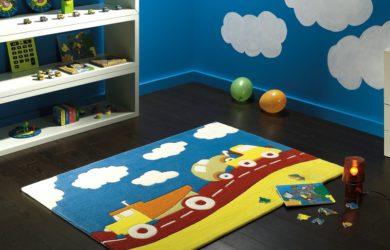 Tapetes para a decoração infantil