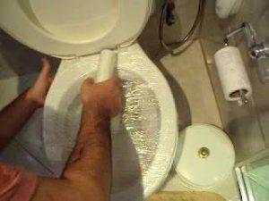 Desentupir vaso sanitário
